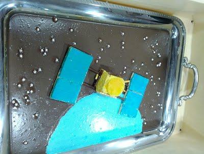 写真6 はやぶさケーキ